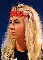 Alexandra Schevchenko founder member of Femen<br /> 02-09-2013: Genova Festa Nazionale Partito Democratico<br /> Democratic Party National Meeting <br /> Foto Genovafoto / Insidefoto