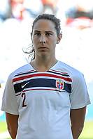 20200310 Faro , Portugal : Norwegian defender Ingrid Moe Wold (2) pictured during the female football game between the national teams of New Zealand and Norway on the third matchday of the Algarve Cup 2020 , a prestigious friendly womensoccer tournament in Portugal , on Tuesday 10 th March 2020 in Faro , Portugal . PHOTO SPORTPIX.BE | STIJN AUDOOREN