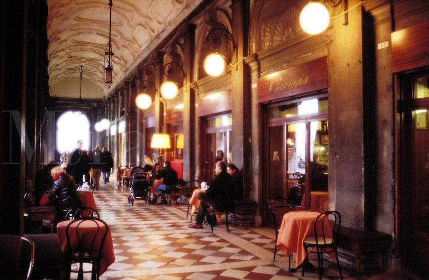 Italy,Venice. cafe