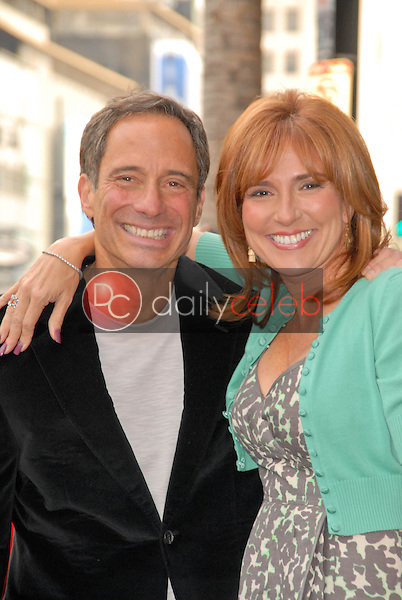 Harvey Levin and Judge Marilyn Milian<br /> at the induction ceremony of Judge Joseph A.Wapner into the Hollywood Walk of Fame, Hollywood, CA. 11-12-09<br /> David Edwards/Dailyceleb.com 818-249-4998