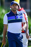Sergio Garcia (ESP) after sinking his putt on 2 during round 3 of the Honda Classic, PGA National, Palm Beach Gardens, West Palm Beach, Florida, USA. 2/25/2017.<br /> Picture: Golffile | Ken Murray<br /> <br /> <br /> All photo usage must carry mandatory copyright credit (&copy; Golffile | Ken Murray)