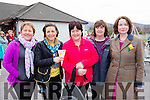 Joan O'Shea, Siobhain darcy, Ann O'Sullivan, Noreen O'Sullivan and Eileen O'Mahony ennjoying the Barraduff 1916 comemerations on Sunday