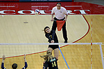 10 November 2017:   IHSA Class 3A Girls Volleyball Semi-Final between Normal UHigh Pioneers and Belleville Althoff Catholic Crusaders at Redbird Arena in Normal IL