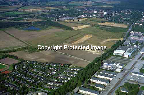 Deutschland, Schleswig- Holstein, Glinde, Gewerbegebiet