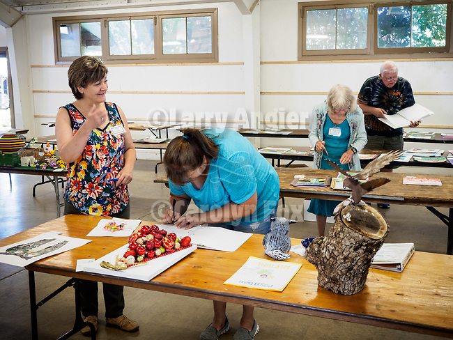 Judging of the Youth Department entries at the 79th Amador County Fair, Plymouth, Calif.<br /> <br /> Thanks to Julia Burns for making this show happen for the kids!<br /> <br /> Nina Machado and Ann Hughes, Judges<br /> <br /> #JuliaJonesBurns, #AmadorCountyFair, #TourAmador, #VisitAmador