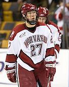 Kevin Du (Harvard - 27) - The Northeastern University Huskies defeated the Harvard University Crimson 3-1 in the Beanpot consolation game on Monday, February 12, 2007, at TD Banknorth Garden in Boston, Massachusetts.