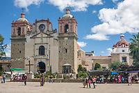 Tlacolula, Oaxaca, Mexico.  Tlacolula Church, Capilla del Santa Cristo.
