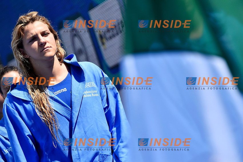 FRASSINETTI Teresa Italia <br /> Italy - France / Italia - Francia<br /> LEN European Water Polo Championships 2014<br /> Alfred Hajos -Tamas Szechy Swimming Complex<br /> Margitsziget - Margaret Island<br /> Day03 Women - July 16 <br /> Photo A.Staccioli/Insidefoto/