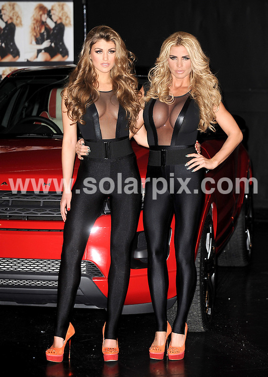 **ALL ROUND PICTURES FROM SOLARPIX.COM**                                             **WORLDWIDE SYNDICATION RIGHTS**                                                                                  Katie Price and Amy Willerton arrive for the photo-call for Sighned by Katie at the Worx Studio's on Thursday 19 January in London                                                                      This pic:    Katie Price                                                                                          JOB REF:    14370    LNJ       DATE:  19.01.12                                                          **MUST CREDIT SOLARPIX.COM OR DOUBLE FEE WILL BE CHARGED**                                                                      **MUST AGREE FEE BEFORE ONLINE USAGE**                               **CALL US ON: +34 952 811 768 or LOW RATE FROM UK 0844 617 7637**