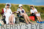 Enjoying the weather at Ballyheigue Beach on Monday were Sheila Fallen, Grace Gilmartin and Tess O'Kennedy