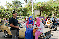 Students in Ain Shams University, Cairo. Egypt, October 2012.<br /> (assignment for the Financial Times)