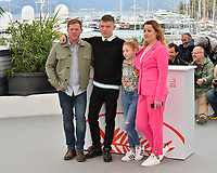 "CANNES, FRANCE. May 17, 2019: Kris Hitchen, Rhys Stone, Katie Proctor & Debbie Honeywood at the photocall for the ""Sorry We Missed You"" at the 72nd Festival de Cannes.<br /> Picture: Paul Smith / Featureflash"