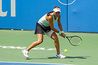 Washington, DC - August 4, 2019: Jessica Pegula (USA) could not make the shot during the Citi Open WTA Singles final at William H.G. FitzGerald Tennis Center in Washington, DC  August 4, 2019.  (Photo by Elliott Brown/Media Images International)