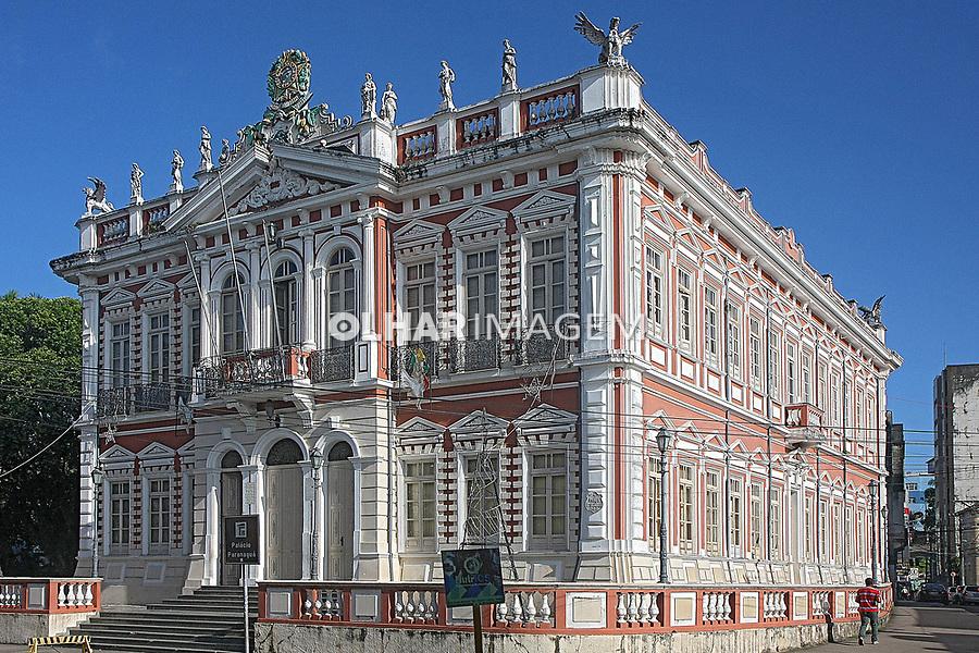 Sede da  Prefeitura de Ilheus, antigo Palácio Paranaguá, Ilheus, Bahia. 2016. Foto de Euler Paixao.