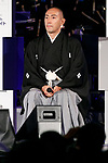 Japanese kabuki star Ichikawa Ebizo attends the 1000 Days to Go! cultural event in front of Tokyo Station on November 26, 2017, Tokyo, Japan. Japanese celebrities attended the event marking the 1000-day countdown to the 2020 Tokyo Olympics. (Photo by Rodrigo Reyes Marin/AFLO)