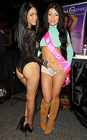 Jasmine Caro, Adriana Chechik at Exxxotica Atlantic City, NJ, Saturday April 12, 2014.