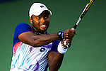 Donald Young (USA) defeats Denis Istomin (UZB) 6-3, 3-6, 6-3