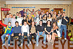 Robert Brosnan, Castleisland seated third from right who celebrated his 21st birthday with his family and friends in the Crown Hotel Castleisland on Saturday night..