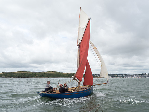 Sailing the 28' LOA Uile-Ioc in Cork Harbour Photo: Bob Bateman