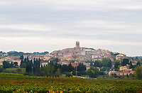 The Sablet village. near Orange Vaucluse Provence France Europe Vaucluse, France, Europe