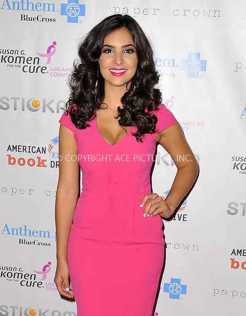 WWW.ACEPIXS.COM......October 13, 2012, Los Angeles, CA.....Camila Banus arriving at 'Designs For The Cure'  at the Millennium Biltmore Hotel on October 13, 2012 in Los Angeles, California. ..........By Line: Peter West/ACE Pictures....ACE Pictures, Inc..Tel: 646 769 0430..Email: info@acepixs.com