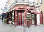 Halal butchers, Deptford High Street, Deptford, Lewisham, London SE8, England, UK