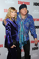 NEW YORK, NY - January 9: Maureen Van Zandt and Steven Van Zandt at HBO And Split Screens Festival The Sopranos 20th Anniversary panel discussion at the SVA Theatre in New York City on January 9, 2019. Credit: John Palmer/MediaPunch