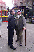 Alex Salmond is quizzed by Jim Milne from Crieff on the subject of the English.... See story   Pic Donald MacLeod