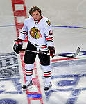 24 January 2009: Chicago Blackhawks right wing forward Patrick Kane participates in the NHL Fan Fav Breakaway Challenge collecting a 6.8% Fan Vote in the NHL SuperSkills Competition, part of the All-Star Weekend at the Bell Centre in Montreal, Quebec, Canada. ***** Editorial Sales Only ***** Mandatory Photo Credit: Ed Wolfstein Photo