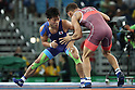 Shinobu Ota (JPN), <br /> AUGUST 14, 2016 - Wrestling : <br /> Men's Greco-Roman 59kg Final<br /> at Carioca Arena 2 <br /> during the Rio 2016 Olympic Games in Rio de Janeiro, Brazil. <br /> (Photo by Koji Aoki/AFLO SPORT)