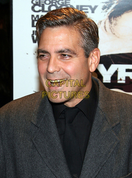 "GEORGE CLOONEY.""Syriana"" world premiere at Lowes Lincoln Square Theatre, New York, NY.  .November 20th, 2005.Photo: Jackson Lee/Admedia/Capital Pictures.Ref: JL/ADM.headshot portrait.www.capitalpictures.com.sales@capitalpictures.com.© Capital Pictures."