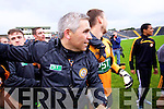 Stephen Stack Manager  Austin Stacks players celebrate winning the Kerry Senior County Football Final at Fitzgerald Stadium on Sunday.