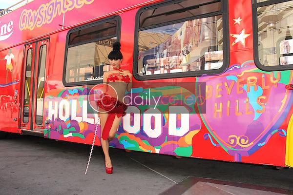 "Bai Ling<br /> ""Red Hot Hollywood Holiday"" Shoot, Hollywood, CA 11-28-14<br /> David Edwards/DailyCeleb.com 818-249-4998"