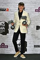 Lil' Kleine - winner, Best Worldwide Act<br /> MTV EMA Awards 2017 in Wembley, London, England on November 12, 2017<br /> CAP/PL<br /> &copy;Phil Loftus/Capital Pictures
