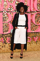 Clara Amfo<br /> arrives for the World Premiere of &quot;Absolutely Fabulous: The Movie&quot; at the Odeon Leicester Square, London.<br /> <br /> <br /> &copy;Ash Knotek  D3137  29/06/2016