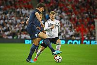Timo Werner (Deutschland, Germany) gegen Harry Maguire (England) - 10.11.2017: England vs. Deutschland, Freundschaftsspiel, Wembley Stadium
