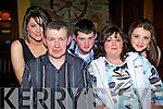 Tom O'Keeffe, from Abbeyfeale, was joined by his wife Helen, daughters Morrisa, Helena and son Thomas in Leen's Hotel Abbeyfeale on Saturday night to celebrate his 50th birthday..