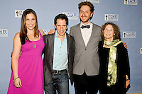 NEW YORK - JULY 23: (L to R) Lindsay Mendez, Seth Rudetsky, Daniel Goldstein and Donna Lieberman attend the &quot;2012 Broadway Stands Up For Freedom&quot; benefit concert at the Jack H. Skirball Center for the Performing Arts on July 23, 2012 in New York City. (Photo by MPI81/MediaPunchInc) /*NortePhoto.com*<br />