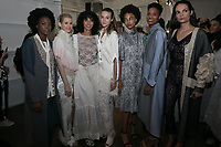 Ruth Zabetta<br /> backstage at fashion show, New York Fashion Week Spring Summer 2019<br /> in New York, USA on September 11, 2018.<br /> CAP/GOL<br /> &copy;GOL/Capital Pictures