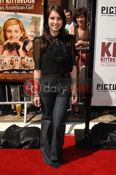 """Emma Roberts<br />at the world premiere of """"Kit Kittredge: An American Girl"""". The Grove, Los Angeles, CA. 06-14-08<br />Dave Edwards/DailyCeleb.com 818-249-4998"""