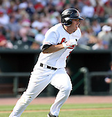 June 15th 2008:  Joe Becker of the Great Lakes Loons, Class-affiliate of the Los Angeles Dodgers, during a game at Dow Diamond in Midland, MI.  Photo by:  Mike Janes/Four Seam Images