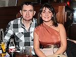 Thomas and Rachel Finnegan pictured at the Integral christmas party at McHugh's. Photo: Colin Bell/pressphotos.ie