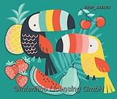 Lamont, CUTE ANIMALS, LUSTIGE TIERE, ANIMALITOS DIVERTIDOS, paintings+++++,USGTKS8103,#ac#, EVERYDAY,tucan,tucans