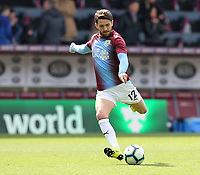 Burnley's Robbie Brady during the pre-match warm-up <br /> <br /> Photographer Rich Linley/CameraSport<br /> <br /> The Premier League - Saturday 13th April 2019 - Burnley v Cardiff City - Turf Moor - Burnley<br /> <br /> World Copyright © 2019 CameraSport. All rights reserved. 43 Linden Ave. Countesthorpe. Leicester. England. LE8 5PG - Tel: +44 (0) 116 277 4147 - admin@camerasport.com - www.camerasport.com