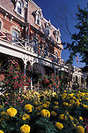 Prince of Wales Hotel and Flowers in Niagara-on-the-Lake Ontario Canada