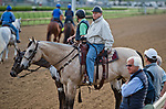 LOUISVILLE, KY - MAY 03: D. Wayne Lukas and Bob Baffert watch the morning workouts in preparation for the Kentucky Derby and Oaks at Churchill Downs on May 3, 2018 in Louisville, Kentucky. (Photo by Scott Serio/Eclipse Sportswire/Getty Images)