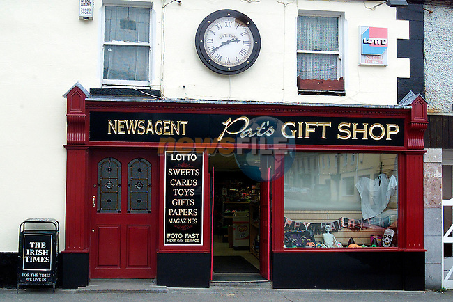 Pat's Gift Shop Dunleer.Picture: Paul Mohan/Newsfile