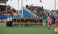 Blacksticks during the World Hockey League match between New Zealand and Korea. North Harbour Hockey Stadium, Auckland, New Zealand. Saturday 18 November 2017. Photo:Simon Watts / www.bwmedia.co.nz