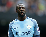 Yaya Toure of Manchester City during the English Premier League match at the Etihad Stadium, Manchester. Picture date: May 13th 2017. Pic credit should read: Simon Bellis/Sportimage
