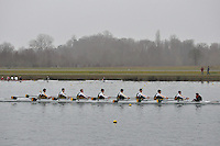012 WindsorBoysSch J15A.8x+..Marlow Regatta Committee Thames Valley Trial Head. 1900m at Dorney Lake/Eton College Rowing Centre, Dorney, Buckinghamshire. Sunday 29 January 2012. Run over three divisions.